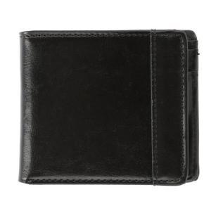 財布 メンズ 二つ折り 通販 小銭入れあり ブラック 黒 コインケース カード入れ 札入れ シンプル お財布 サイフ 入学祝い 就職祝い 誕生日 プレゼント|BACKYARD FAMILY