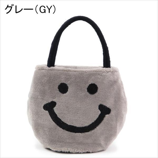 アジョリー バッグ スマイル ファーバッグ a jolie  にこちゃん フェイクムートン aj-059|bag-danjo|09