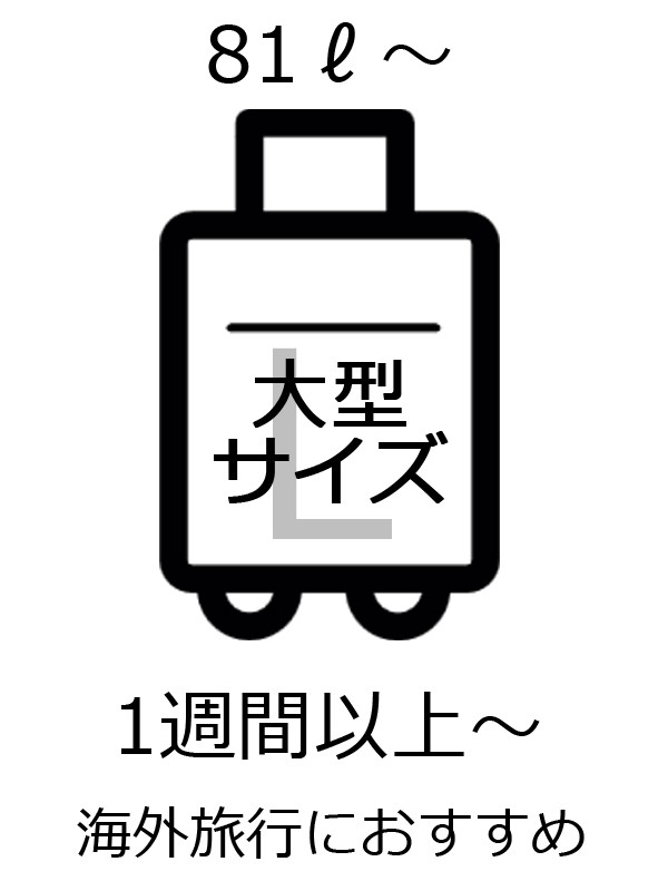 FUTABA スーツケース特集2019 サイズL