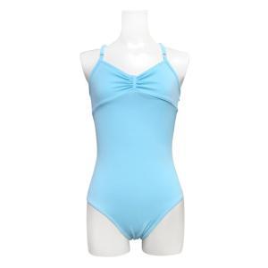 送料無料 バレエ レオタード 子供 大人 日本製 お直し3年保証 ライクラ素材 リボンパッセ全6色 吸汗速乾 UVカット スカートなしレオタード scl001|ballet-sayori|13