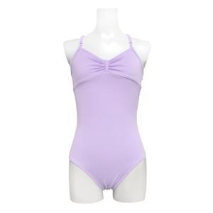 送料無料 バレエ レオタード 子供 大人 日本製 お直し3年保証 ライクラ素材 リボンパッセ全6色 吸汗速乾 UVカット スカートなしレオタード scl001|ballet-sayori|11
