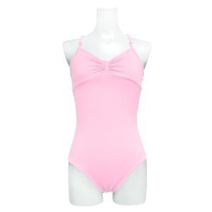 送料無料 バレエ レオタード 子供 大人 日本製 お直し3年保証 ライクラ素材 リボンパッセ全6色 吸汗速乾 UVカット スカートなしレオタード scl001|ballet-sayori|14