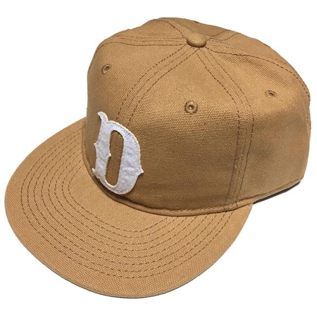 """デッキーズ """"D"""" フラットビル スナップバックキャップ DICKIES CAP キャップ 帽子 フラットバイザー フエルトパッチ キャンバス生地 ダック アメカジ カジュアル メンズ レディース 男女兼用 かっこいい セレクトアイテム セレクトショップ Tシャツ屋さんバンビ"""