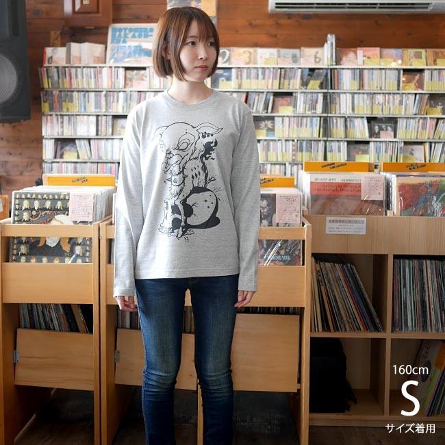 コアバンビ ロングスリーブ Tシャツ - BPGT -A-( ハードコア ROCK ロック スカル SKULL ドクロ )