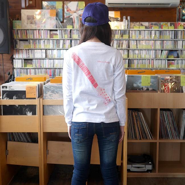 Rocker? ロングスリーブ Tシャツ BPGT バンビ グラフィックTシャツ ロンT 長袖 ロッカー ロック ロックTシャツ ギター バンドTシャツ ホワイト 白 オリジナル メンズ レディース ユニセックス