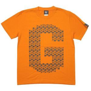 ギターのG Tシャツ (オレンジ) -G- ロックTシャツ バンドTシャツ ロゴT ギター柄 カジュアル おしゃれ 半袖|bambi|06