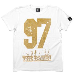 bambi97 Tシャツ (ホワイト) -G- 白色 半袖 ロゴTee ロックTシャツ グラフィック 春夏秋服コーデ 綿100%|bambi|06