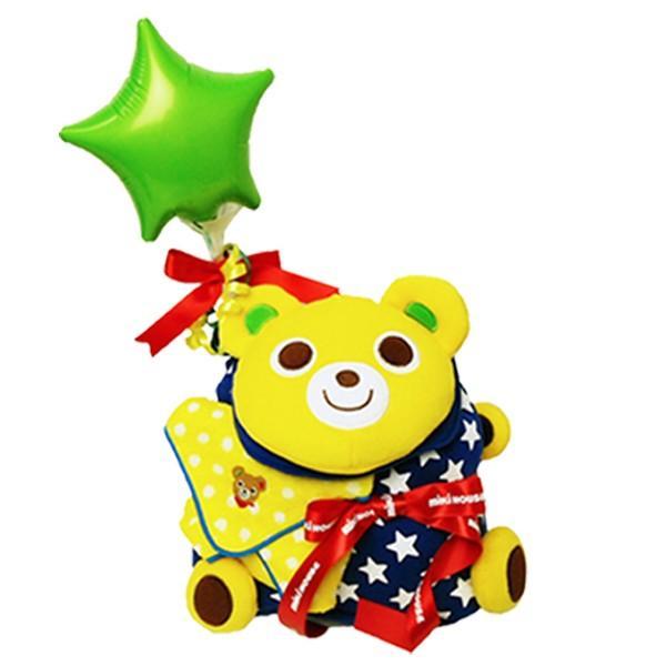 出産祝い 名入れ ミキハウス おむつケーキ リュックサック 男の子 女の子 1歳 誕生日 一升餅 プッチー うさこ|bambinoeshop|09