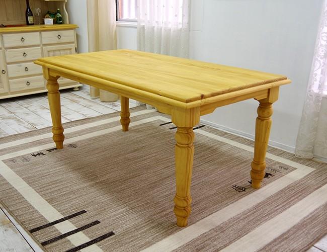 フレンチカントリーのダイニングテーブル各種