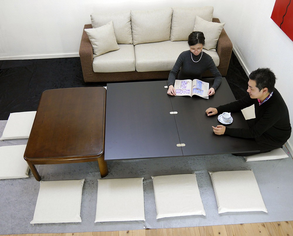 座卓と並べて使えるローテーブル