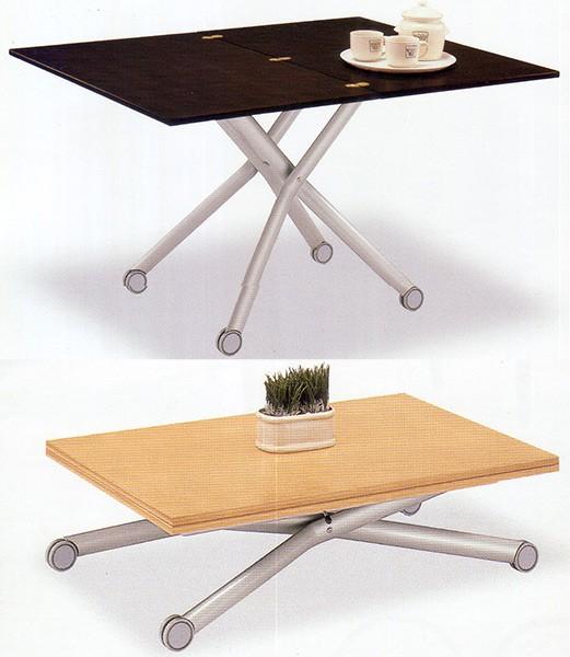 高さも調整できるイタリア伸張式テーブル