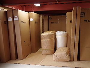 商品検品と出荷準備完了