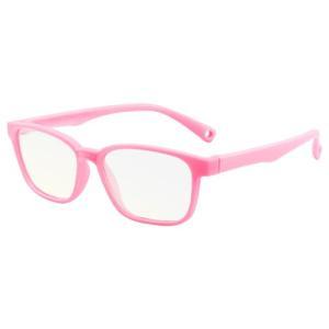 ブルーライトカット PCメガネ 子ども用 ブルーライトカットメガネ 子供用 PC眼鏡 パソコン おしゃれ 度なし メンズ レディース 軽量 送料無料 baris 17