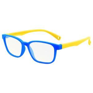 ブルーライトカット PCメガネ 子ども用 ブルーライトカットメガネ 子供用 PC眼鏡 パソコン おしゃれ 度なし メンズ レディース 軽量 送料無料 baris 21