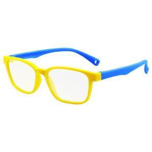 ブルーライトカット PCメガネ 子ども用 ブルーライトカットメガネ 子供用 PC眼鏡 パソコン おしゃれ 度なし メンズ レディース 軽量 送料無料 baris 22