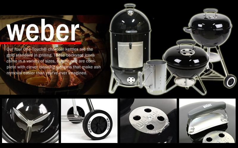 BBQ大国アメリカで60%以上シェアを誇るトップブランド「weber」