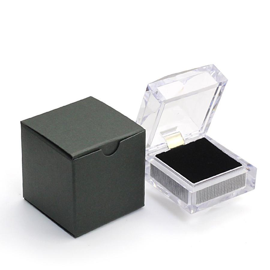 指輪ケース リングケース 指輪 ジュエリーボックス ジュエリーケース ピアスケース 透明 ネックレス 収納 保管 フリマ ネックレス 母の日 ギフト おしゃれ|barzaz|07