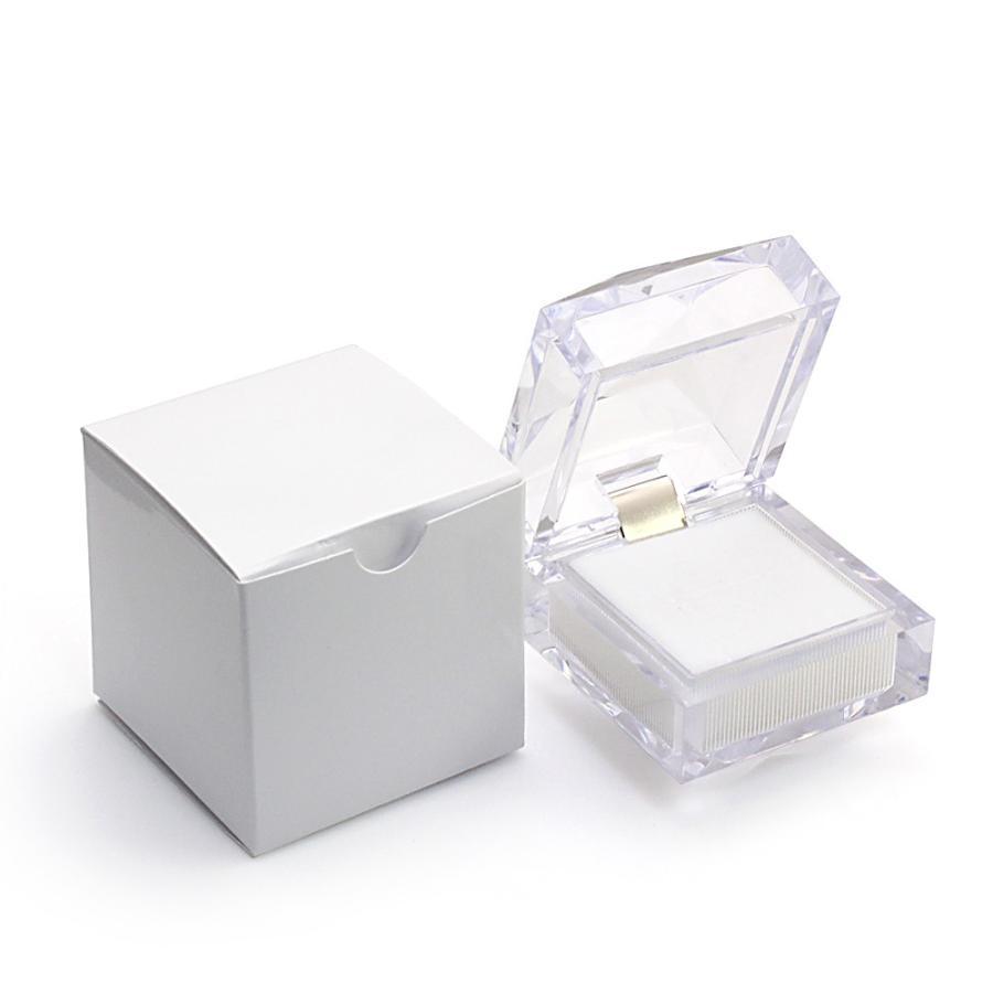 指輪ケース リングケース 指輪 ジュエリーボックス ジュエリーケース ピアスケース 透明 ネックレス 収納 保管 フリマ ネックレス 母の日 ギフト おしゃれ|barzaz|06