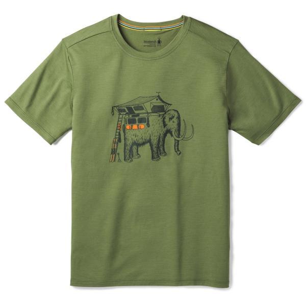 スマートウール メンズ メリノ150モバイルマンモスティー/アウトドアウェア Tシャツ トップス basecamp-jp 06