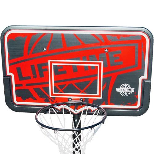 バスケットゴール【LIFETIME(ライフタイム)】LT-90089 HDPE強化プラスチック製インパクトボード