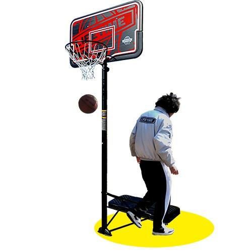 バスケットゴール【LIFETIME(ライフタイム)】LT-90089 レイアップシュートの足場を確保した最新ベースタンク