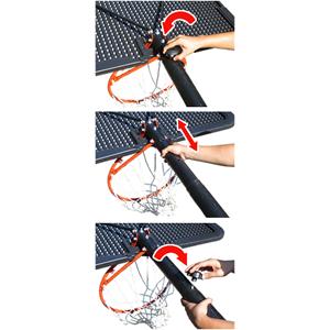 バスケットゴール【LIFETIME(ライフタイム)】LT-1558 最高品質の高さ調節機能「アクショングリップ」