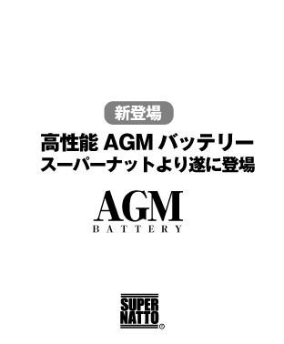 スーパーナットのAGMバッテリー
