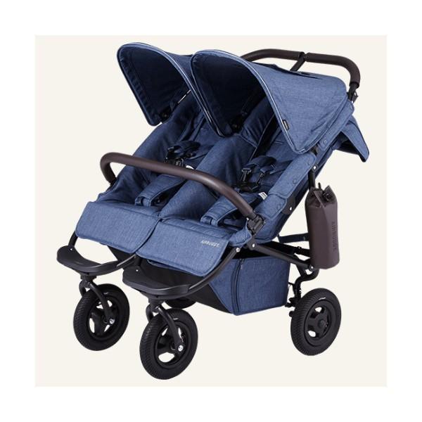 ヘッドサポート付 ベビーカー バギー 新生児 A型 エアバギー ココダブル フロムバース COCO DOUBLE FROM BIRTH 送料無料|bb-yamadaya|20