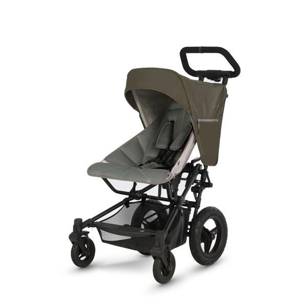 ベビーカー バギー 新生児 B型 マイクラライト ファストフォールド 大型エアチューブタイヤ 振動吸収 レインカバー付属 Micralite 送料無料|bb-yamadaya|20