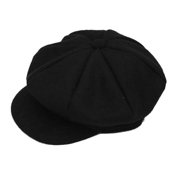 キッズ キャスケット 帽子 フェルト帽 無地 子供用 キャスケット帽 厚手 ハンチング キャップ 秋 冬 CAP 1322|bbdirect|09