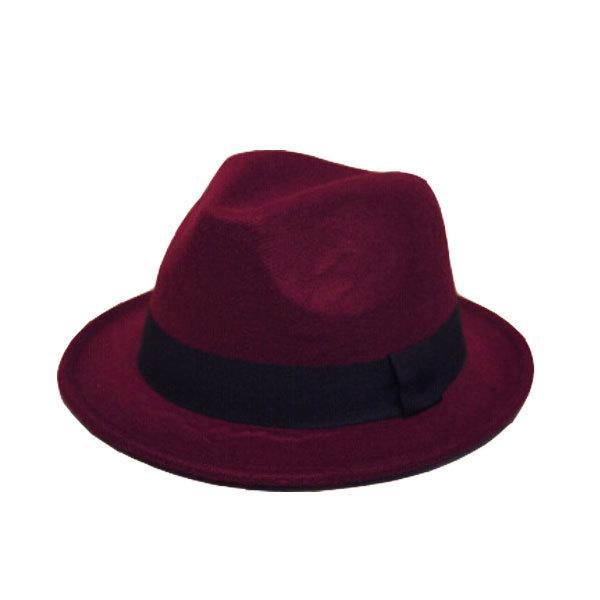 帽子 中折れ フェルトハット 中折れ フェルト帽 中折れハット S M キッズハット 子ども用 無地 メンズ レディース 親子帽子 FELT HAT 3020|bbdirect|15
