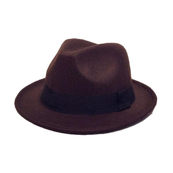 帽子 中折れ フェルトハット 中折れ フェルト帽 中折れハット S M キッズハット 子ども用 無地 メンズ レディース 親子帽子 FELT HAT 3020|bbdirect|10