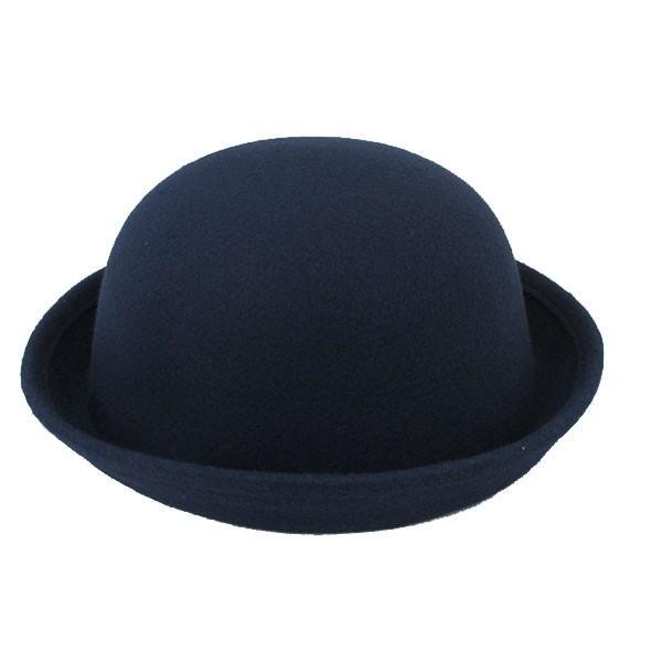 ボーラーハット 帽子 フェルトハット 猫耳 ネコ耳 キッズハット メンズ レディース 子供用 フェルト帽 親子帽子 S M HAT 324|bbdirect|14