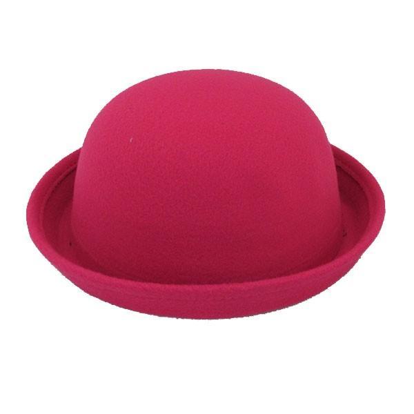ボーラーハット 帽子 フェルトハット 猫耳 ネコ耳 キッズハット メンズ レディース 子供用 フェルト帽 親子帽子 S M HAT 324|bbdirect|20