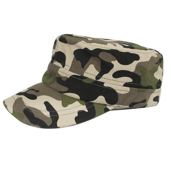 コットン ワークキャップ 帽子 無地 キャップ 綿 迷彩 ミリタリー風 軍帽子メンズ レディース CAP 6113|bbdirect|16