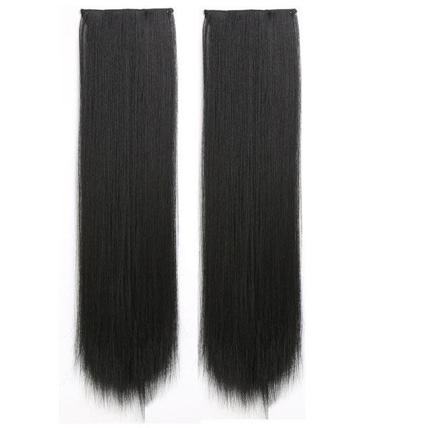 2本セット エクステ ストレート カール ウィッグ 襟足ウィッグ ワンタッチ 耐熱ウィッグ えりあし エクステンション 付け毛 つけ毛 ウイッグ WIG EXT 008|bbdirect|07