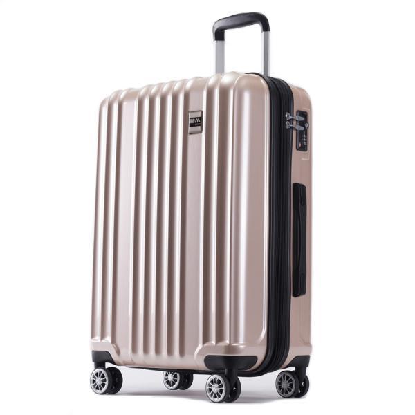スーツケース Mサイズ 中型 軽量 旅行用品 キャリーバッグ ハードケース ファスナー|bbmonsters|19
