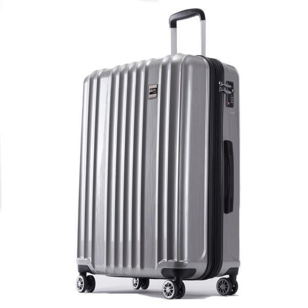 スーツケース Mサイズ 中型 軽量 旅行用品 キャリーバッグ ハードケース ファスナー|bbmonsters|18