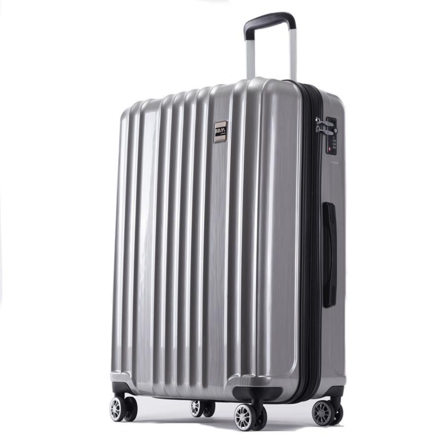 スーツケース Lサイズ 大型 軽量 旅行用品 キャリーケース キャリーバッグファスナー TSAロック 大容量|bbmonsters|18