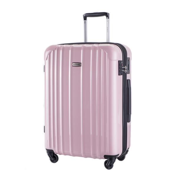 スーツケース 大型 軽量 ハードケース キャリーバッグ キャリーケース ファスナー 日乃本錠前 グリスパック キャスターストッパー 5泊〜10泊|bbmonsters|11