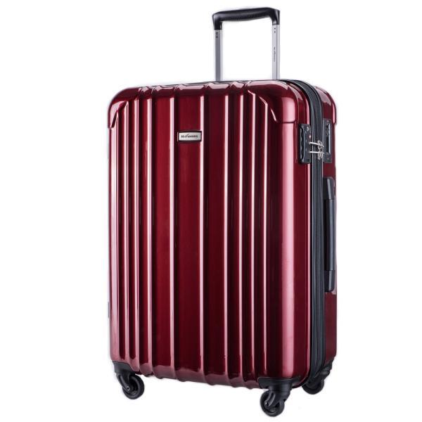 スーツケース 大型 軽量 ハードケース キャリーバッグ キャリーケース ファスナー 日乃本錠前 グリスパック キャスターストッパー 5泊〜10泊|bbmonsters|07