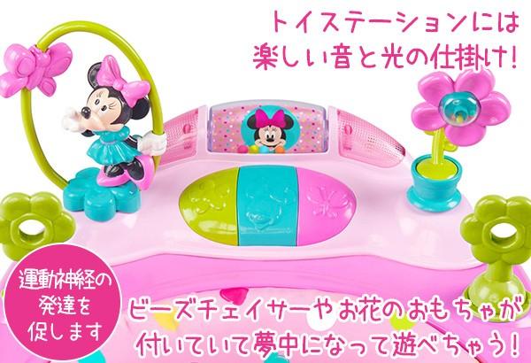 ディズニー ベビー ミニーマウス ピーカブー ウォーカー 歩行器 10139 Bbrベビー 通販