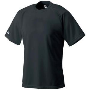 ミズノ ベースボールシャツ 野球 丸首 52LB138 メール便可|bbtown|06
