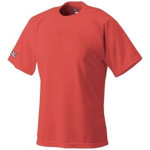 ミズノ ベースボールシャツ 野球 丸首 52LB138 メール便可|bbtown|09