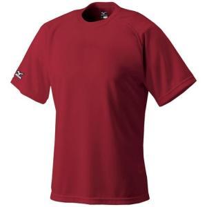 ミズノ ベースボールシャツ 野球 丸首 52LB138 メール便可|bbtown|10