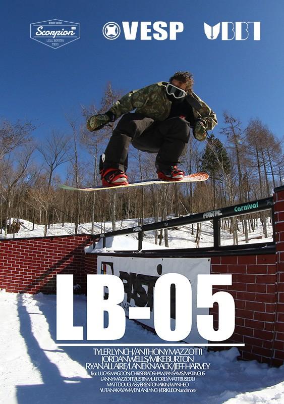 スノーボードDVD LB SUNDAY2