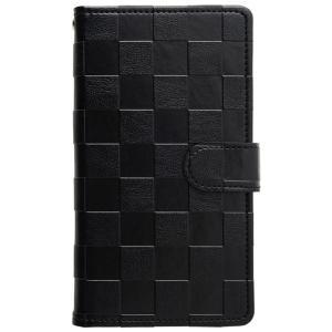 シムフリー ケース HUAWEI ASUS ZenFone HTC NEXUS 楽天モバイル AQUOS ARROWS XPERIA スマホケース 手帳型ケース チェスパターン ベルト付き|beaute-shop|10