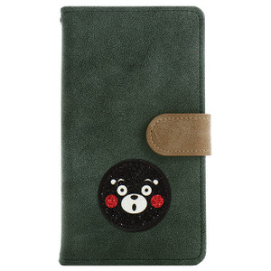 シムフリー ケース HUAWEI ASUS ZenFone HTC NEXUS 楽天モバイル スマホケース 手帳型 カバー ヴィンテージ くまモン ゆるキャラ 熊本 ベルト付き|beaute-shop|18
