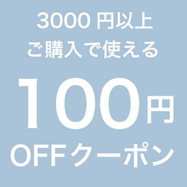 3,000円以上のご購入で使える100円OFFクーポン