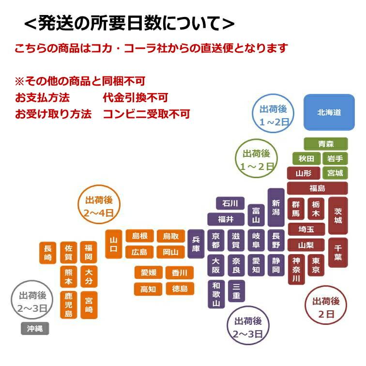 コカ・コーラ配送日について